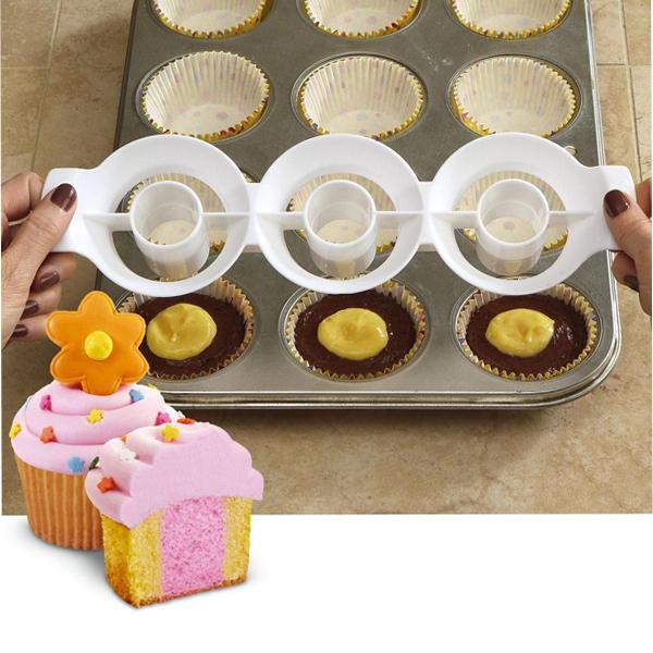 Kéttónusú muffin sütőforma