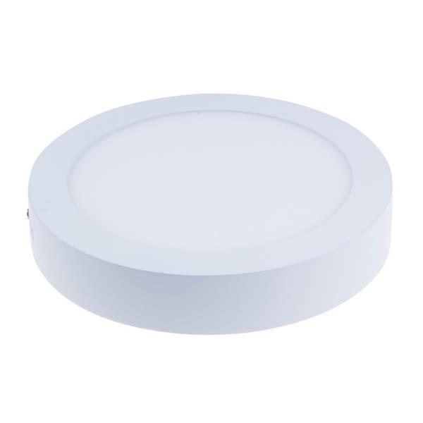 6W kerek, külső szerelésű LED panel - hideg fehér