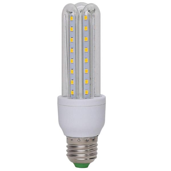 Energiatakarékos 9W LED fénycső E27 foglalatba / 9W=~90W - hideg fehér