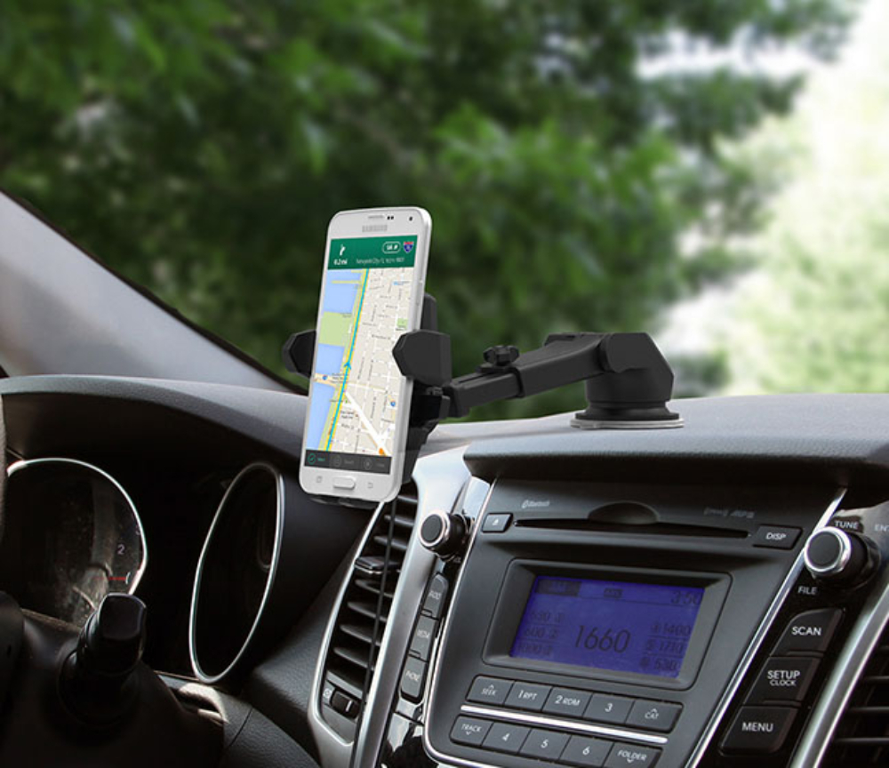 Teleszkópos One Touch telefontartó autóba