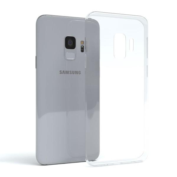Átlátszó szilikon védőtok Samsung Galaxy S9 készülékhez