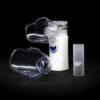 Kép 1/3 - Ultrahangos mini inhalátor / USB-ről tölthető - felnőtt és gyerek maszkkal, pipával