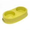 Kép 1/3 - Kisállat etető- és itatótál, dupla kialakítás / műanyag