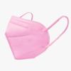 Kép 1/3 - FFP2 légzésvédő egészségügyi arcmaszk (KN95) / rózsaszín / 5 db