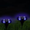 Kép 4/5 - Dupla fényű, leszúrható, napelemes LED lámpa fényérzékelővel / 4 db