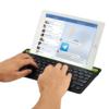 Kép 2/4 - Multi-platform Bluetooth billentyűzet - tablet- és telefontartóval