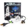 Kép 3/3 - H7 X3 LED fényszóró szett / 1 pár, 25W, 6000 LM