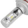 Kép 4/4 - H4 X3 LED fényszóró szett / 1 pár, 25W, 6000 LM