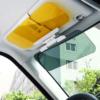 Kép 1/3 - Autós fényszűrő – napellenzőre csíptethető / látássegítő napellenző autóba