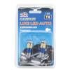 Kép 1/2 - T10 Autós LED izzó - 12V / 2 db, 57 LED, 350 Lumen (12565)