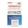 Kép 2/2 - C10W Autós LED izzó 12V - 42 mm, SV 8.5 / 2 db, 4 LED (10994)