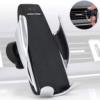 Kép 2/5 - Okos autós telefontöltő és tartó – mozgásérzékelő szenzorral / szellőző rácsba illeszthető (S5)