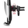 Kép 4/5 - Okos autós telefontöltő és tartó – mozgásérzékelő szenzorral / szellőző rácsba illeszthető (S5)