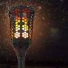 Kép 1/6 - Napelemes LED fáklya pislákoló fénnyel - leszúrható, falra vagy járdára rögzíthető (XF-6005)