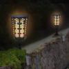 Kép 5/6 - Napelemes LED fáklya pislákoló fénnyel - leszúrható, falra vagy járdára rögzíthető (XF-6005)