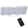 Kép 4/4 - Távirányítós digitális LED óra hőmérővel - színváltós / asztali és fali óra