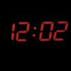 Kép 2/4 - Távirányítós digitális LED óra hőmérővel - színváltós / asztali és fali óra
