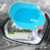 Kép 1/4 - Ovális vízlepergető fólia visszapillantó tükörre / 150x100 mm