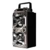 Kép 1/4 - Vezeték nélküli, hordozható Bluetooth hangszóró és zenelejátszó (P-101)