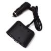 Kép 4/5 - 100W lapos szivargyújtó elosztó / 2 db szivargyújtó + 1 db USB kimenet