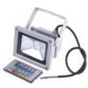 Kép 1/3 - 10W színváltós RGB LED reflektor távirányítóval, kül- és beltérre