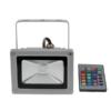 Kép 2/3 - 10W színváltós RGB LED reflektor távirányítóval, kül- és beltérre