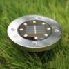 Kép 1/5 - Solar Disc – Napelemes LED lámpa fényérzékelővel