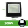Kép 1/2 - 200W CREE LED energiatakarékos reflektor