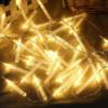 Kép 4/5 - Karácsonyi 20 ledes elemes jégcsap izzósor / 3 méteres fényfüzér, átlátszó vezetékkel