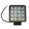 Kép 1/3 - 48W szuper erős LED munkalámpa, szúrófény járművekre / szögletes