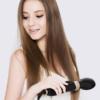 Kép 2/7 - 4 az 1-ben egyenesítő, formázó és szárító hajkefe / elektromos hajformázó minden hajtípusra, cser...