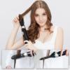 Kép 7/7 - 4 az 1-ben egyenesítő, formázó és szárító hajkefe / elektromos hajformázó minden hajtípusra, cser...