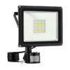 Kép 1/2 - Mozgásérzékelős 50W CREE LED energiatakarékos reflektor