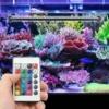Kép 1/4 - 5W LED akvárium világítás távirányítóval / RGBW akváriumlámpa (MA-24)
