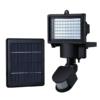 Kép 2/2 - 60 LED-es napelemes reflektor mozgásérzékelővel / 15W