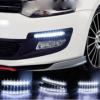 Kép 2/3 - DRL 8 LED autós nappali menetfény / E jeles