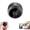 Kép 1/5 - Mini HD videó kamera, Wifi kapcsolattal - Applikáción figyelhető élőkép / mágneses rögzítés