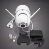 Kép 2/3 - Falra szerelhető prémium wifi-s kamera