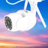 Kép 1/2 - V380 Biztonsági kamera Wifivel, mozgásérzékelővel / HD képrögzítés