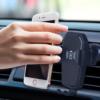 Kép 1/6 - K81 Autós vezeték nélküli telefontöltő és tartó - szellőzőrácsba rögzíthető