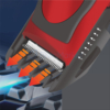 Kép 2/5 - Hoomei akkumulátoros hajnyírógép - vörös