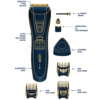 Kép 3/5 - Hoomei férfi haj- és szakállnyíró gép / 3 méretpontos fejjel / kék színben