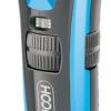 Kép 2/5 - Hoomei férfi haj- és szakállnyíró gép / 3 méretpontos fejjel / kék színben