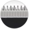 Kép 5/7 - Hoomei hajvágó szett töltődokkal – 3-15 mm-es vágási magasság