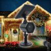 Kép 1/5 - Karácsonyi solar lézerfény / kültéri dekorvilágítás fényérzékelővel - piros-zöld lézershow...