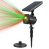 Kép 3/5 - Karácsonyi solar lézerfény / kültéri dekorvilágítás fényérzékelővel - piros-zöld lézershow...