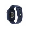 Kép 3/3 - Szilikon szíj és védőtok Apple Watch órához, 40 mm (több színben) - sötétkék