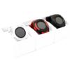 Kép 4/4 - Érintőkijelzős kerek okosóra / kamerával és telefon funkcióval - fekete