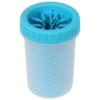 Kép 1/3 - Szilikon kutyalábmosó / sártalanító mosóedény - kék
