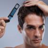 Kép 1/5 - Haj- és szakállformázó, egyenesítő fésű férfiaknak